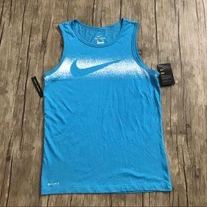 Nike Dri-fit Blue Tank top NWT